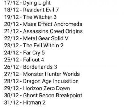 Lista darmowych gier epic